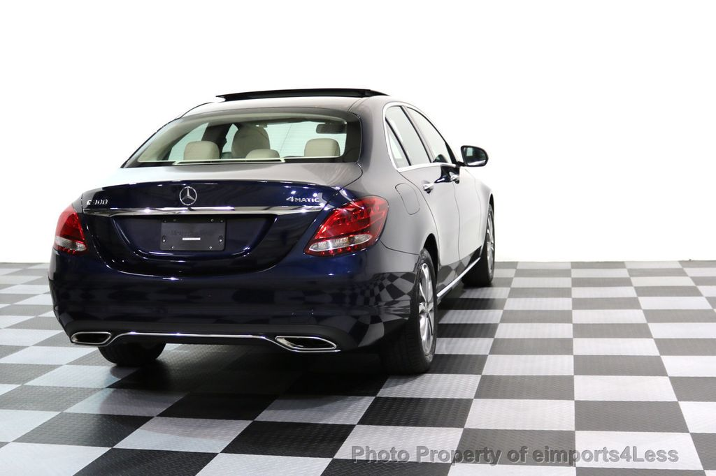 2017 Mercedes-Benz C-Class CERTIFIED C300 4Matic AWD Pano Camera NAVI - 16934087 - 30