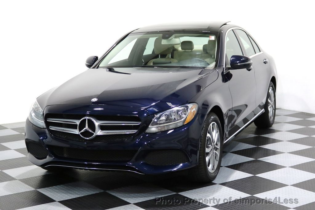 2017 Mercedes-Benz C-Class CERTIFIED C300 4Matic AWD Pano Camera NAVI - 16934087 - 38