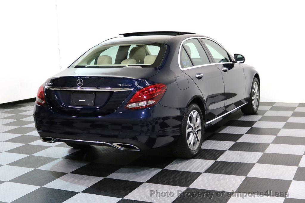 2017 Mercedes-Benz C-Class CERTIFIED C300 4Matic AWD Pano Camera NAVI - 16934087 - 3