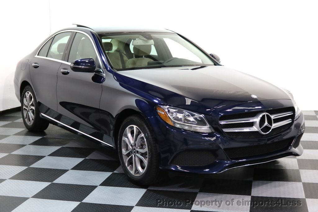2017 Mercedes-Benz C-Class CERTIFIED C300 4Matic AWD Pano Camera NAVI - 16934087 - 39