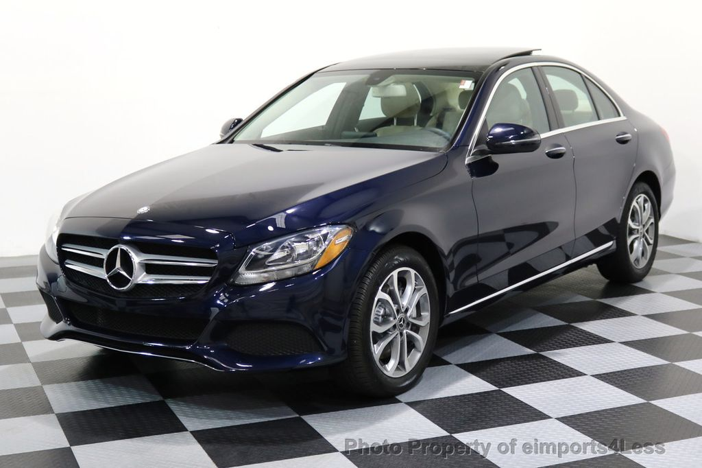 2017 Mercedes-Benz C-Class CERTIFIED C300 4Matic AWD Pano Camera NAVI - 16934087 - 48