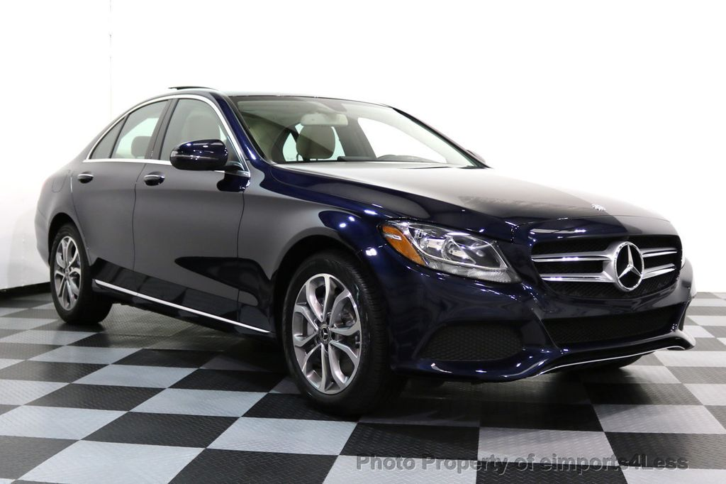 2017 Mercedes-Benz C-Class CERTIFIED C300 4Matic AWD Pano Camera NAVI - 16934087 - 51