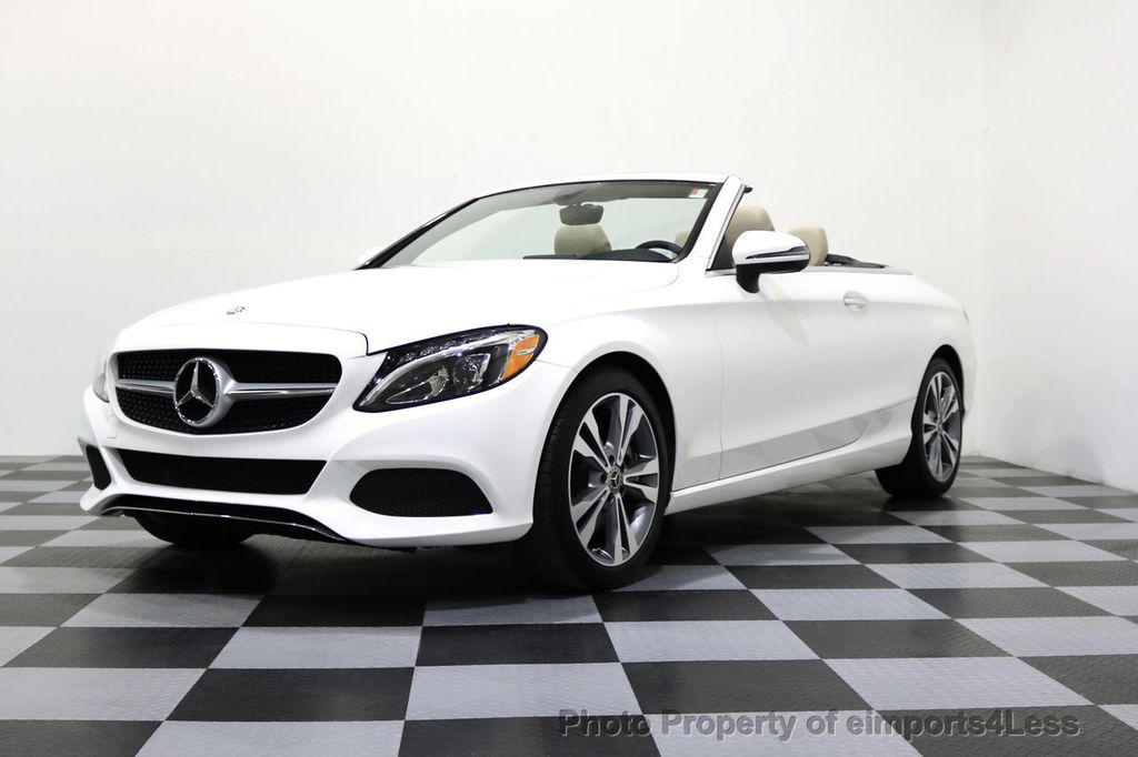 2017 Mercedes-Benz C-Class CERTIFIED C300 4Matic P2 AWD CABRIOLET - 17307934 - 13