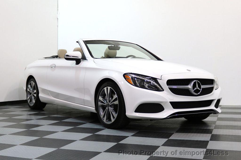 2017 Mercedes-Benz C-Class CERTIFIED C300 4Matic P2 AWD CABRIOLET - 17307934 - 14