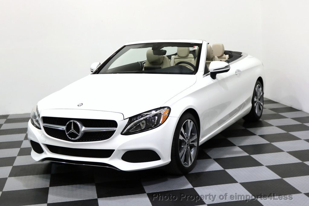 2017 Mercedes-Benz C-Class CERTIFIED C300 4Matic P2 AWD CABRIOLET - 17307934 - 15