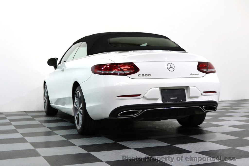 2017 Mercedes-Benz C-Class CERTIFIED C300 4Matic P2 AWD CABRIOLET - 17307934 - 16