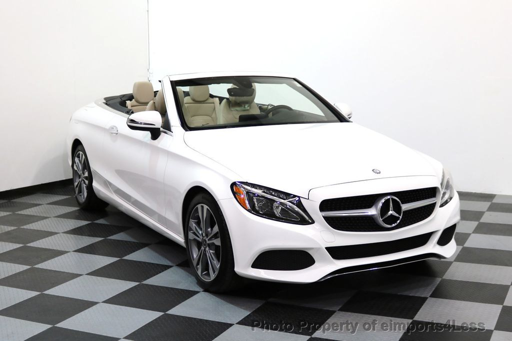 2017 Mercedes-Benz C-Class CERTIFIED C300 4Matic P2 AWD CABRIOLET - 17307934 - 1