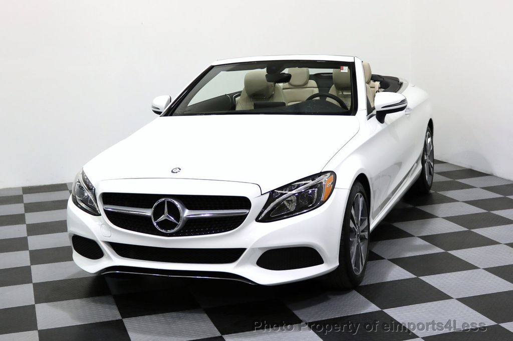 2017 Mercedes-Benz C-Class CERTIFIED C300 4Matic P2 AWD CABRIOLET - 17307934 - 28