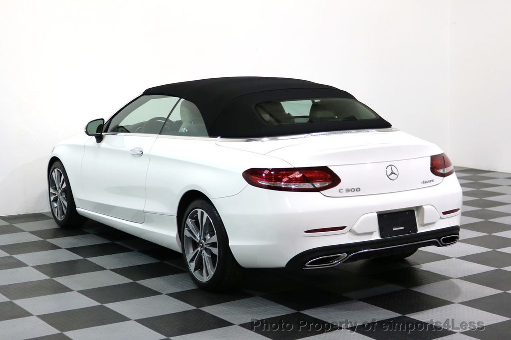 2017 Mercedes-Benz C-Class CERTIFIED C300 4Matic P2 AWD CABRIOLET - 17307934 - 2