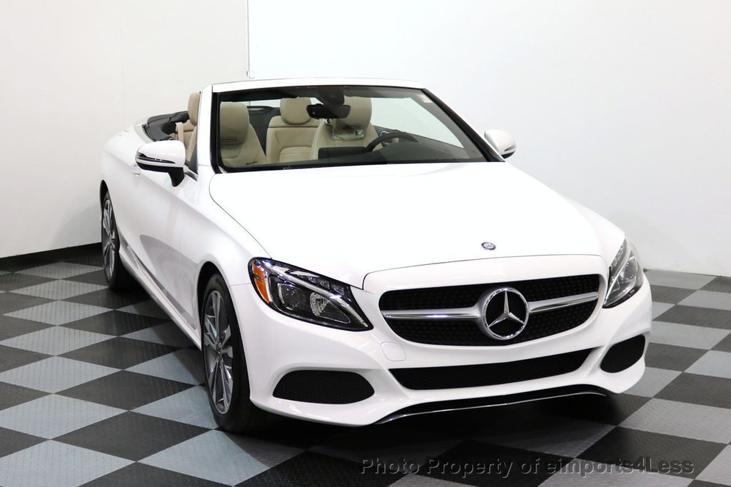 2017 Mercedes-Benz C-Class CERTIFIED C300 4Matic P2 AWD CABRIOLET - 17307934 - 29