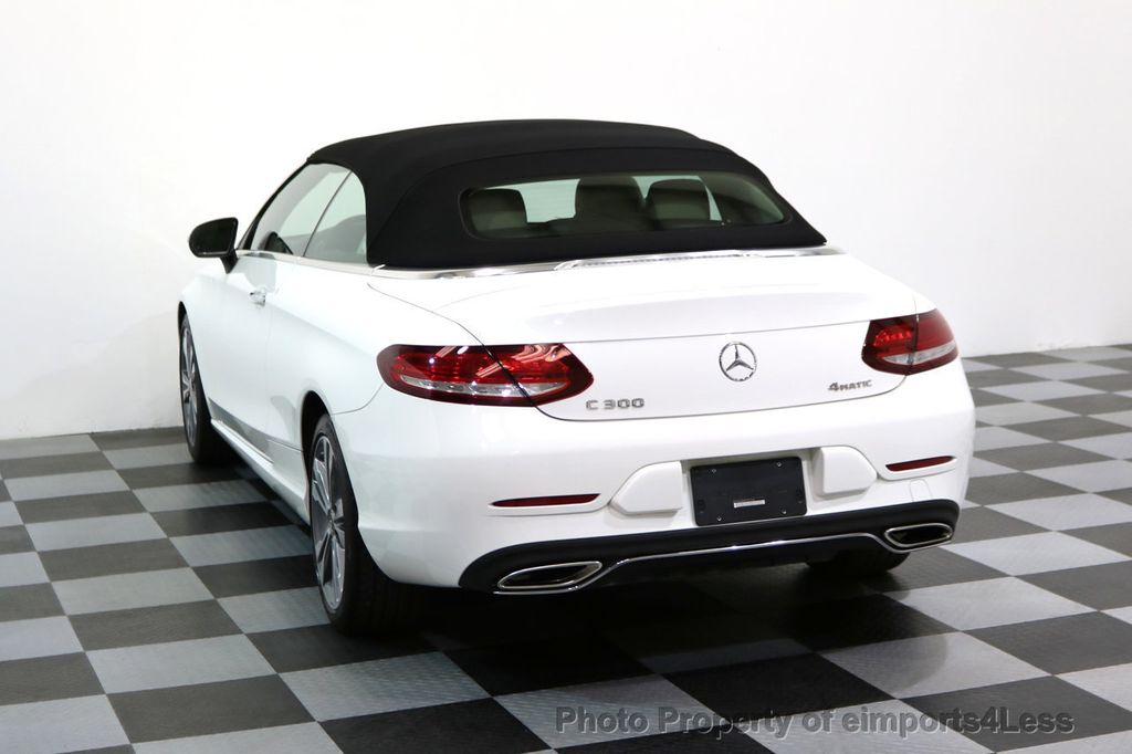 2017 Mercedes-Benz C-Class CERTIFIED C300 4Matic P2 AWD CABRIOLET - 17307934 - 30