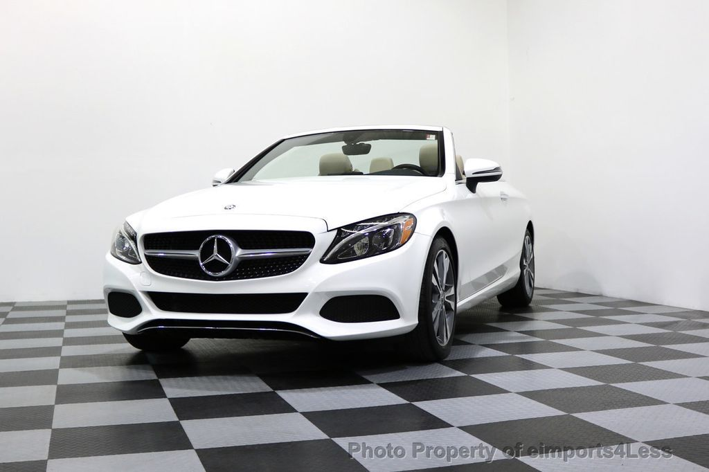 2017 Mercedes-Benz C-Class CERTIFIED C300 4Matic P2 AWD CABRIOLET - 17307934 - 41