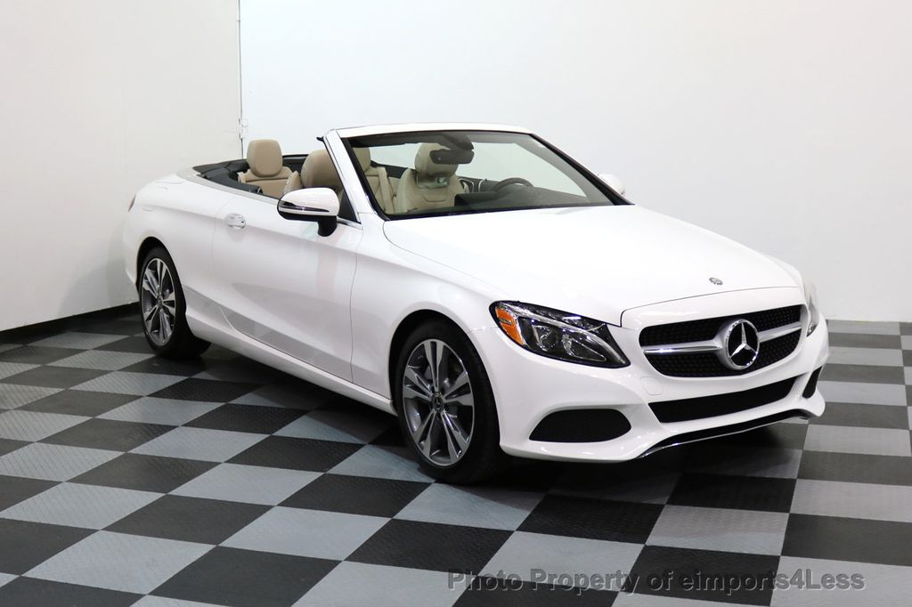 2017 Mercedes-Benz C-Class CERTIFIED C300 4Matic P2 AWD CABRIOLET - 17307934 - 42