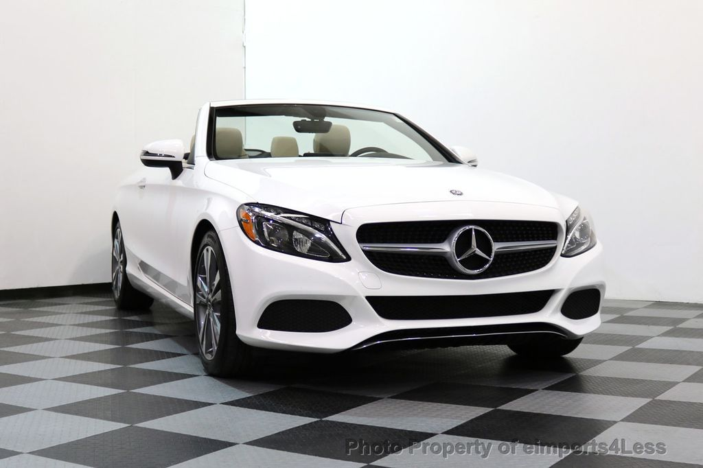 2017 Mercedes-Benz C-Class CERTIFIED C300 4Matic P2 AWD CABRIOLET - 17307934 - 50