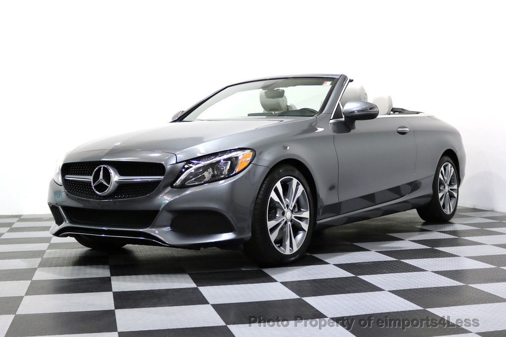 2017 Mercedes-Benz C-Class CERTIFIED C300 4Matic P2 AWD CABRIOLET CAMERA NAVI - 17270745 - 13