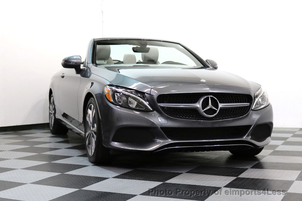 2017 Mercedes-Benz C-Class CERTIFIED C300 4Matic P2 AWD CABRIOLET CAMERA NAVI - 17270745 - 14