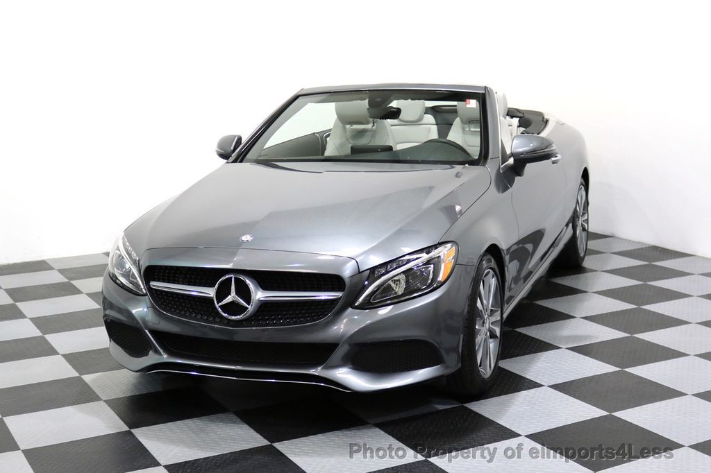 2017 Mercedes-Benz C-Class CERTIFIED C300 4Matic P2 AWD CABRIOLET CAMERA NAVI - 17270745 - 27