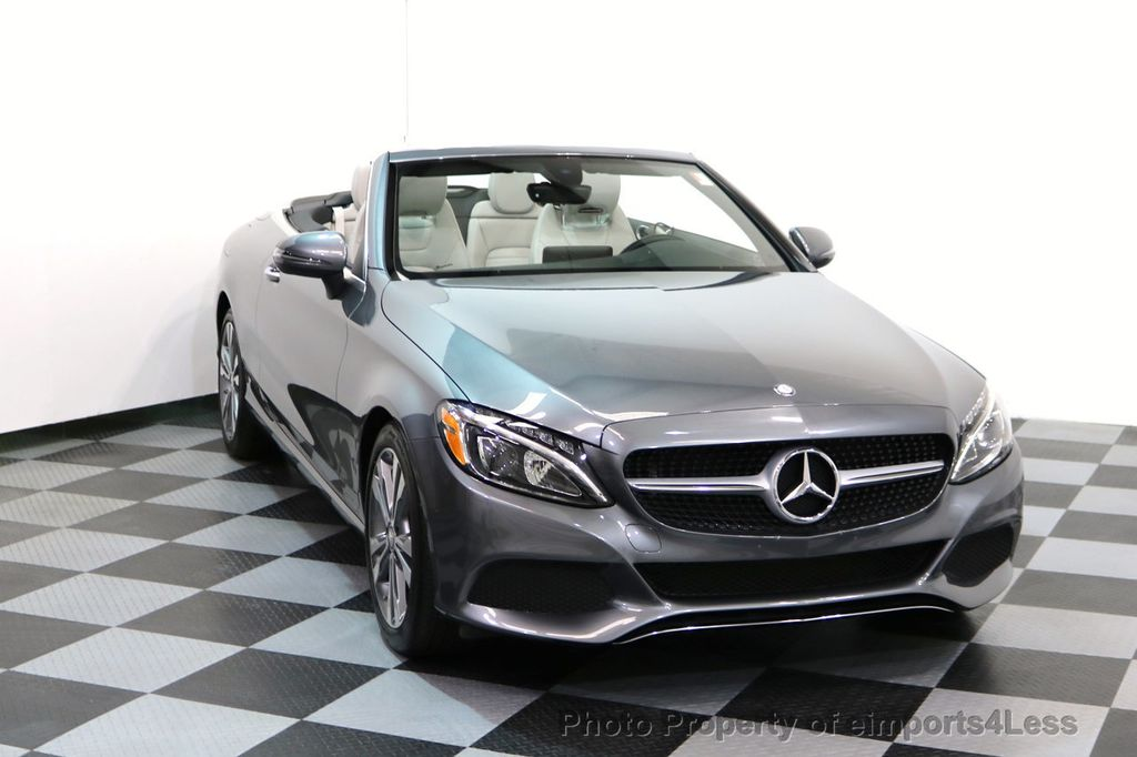 2017 Mercedes-Benz C-Class CERTIFIED C300 4Matic P2 AWD CABRIOLET CAMERA NAVI - 17270745 - 28
