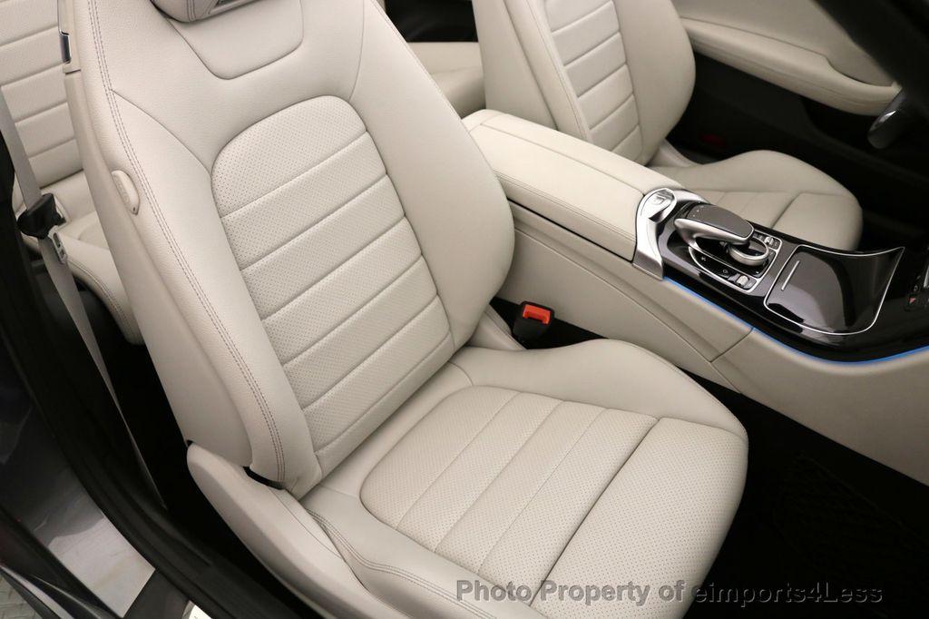 2017 Mercedes-Benz C-Class CERTIFIED C300 4Matic P2 AWD CABRIOLET CAMERA NAVI - 17270745 - 32