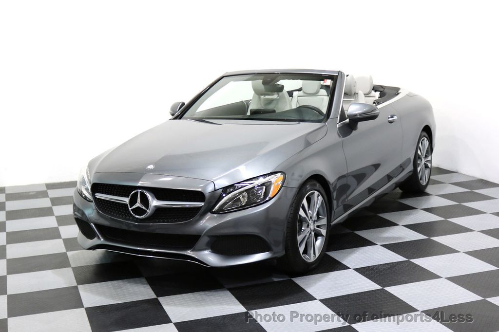2017 Mercedes-Benz C-Class CERTIFIED C300 4Matic P2 AWD CABRIOLET CAMERA NAVI - 17270745 - 40