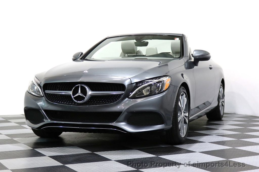 2017 Mercedes-Benz C-Class CERTIFIED C300 4Matic P2 AWD CABRIOLET CAMERA NAVI - 17270745 - 44