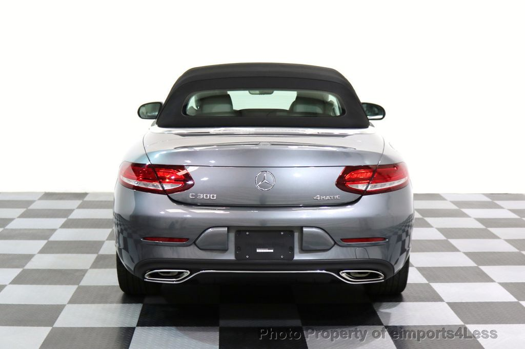 2017 Mercedes-Benz C-Class CERTIFIED C300 4Matic P2 AWD CABRIOLET CAMERA NAVI - 17270745 - 46