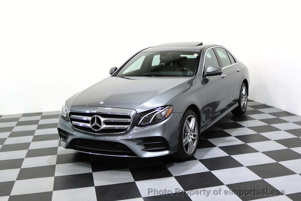 2017 Mercedes-Benz E-Class CERTIFIED E300 4Matic AMG Sport Package AWD BLIND SPOT NAV  - 17308041 - 0