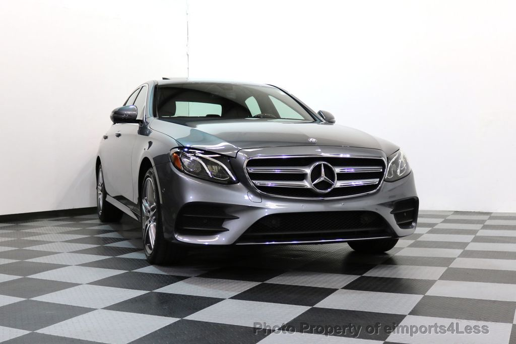 2017 Mercedes-Benz E-Class CERTIFIED E300 4Matic AMG Sport Package AWD BLIND SPOT NAV  - 17308041 - 15