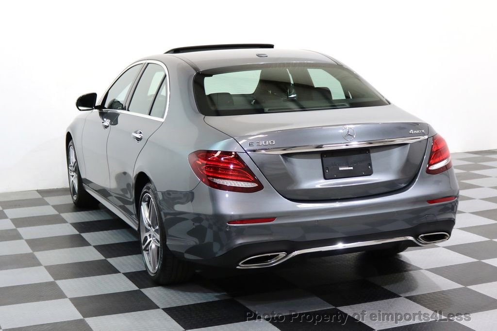 2017 Mercedes-Benz E-Class CERTIFIED E300 4Matic AMG Sport Package AWD BLIND SPOT NAV  - 17308041 - 16