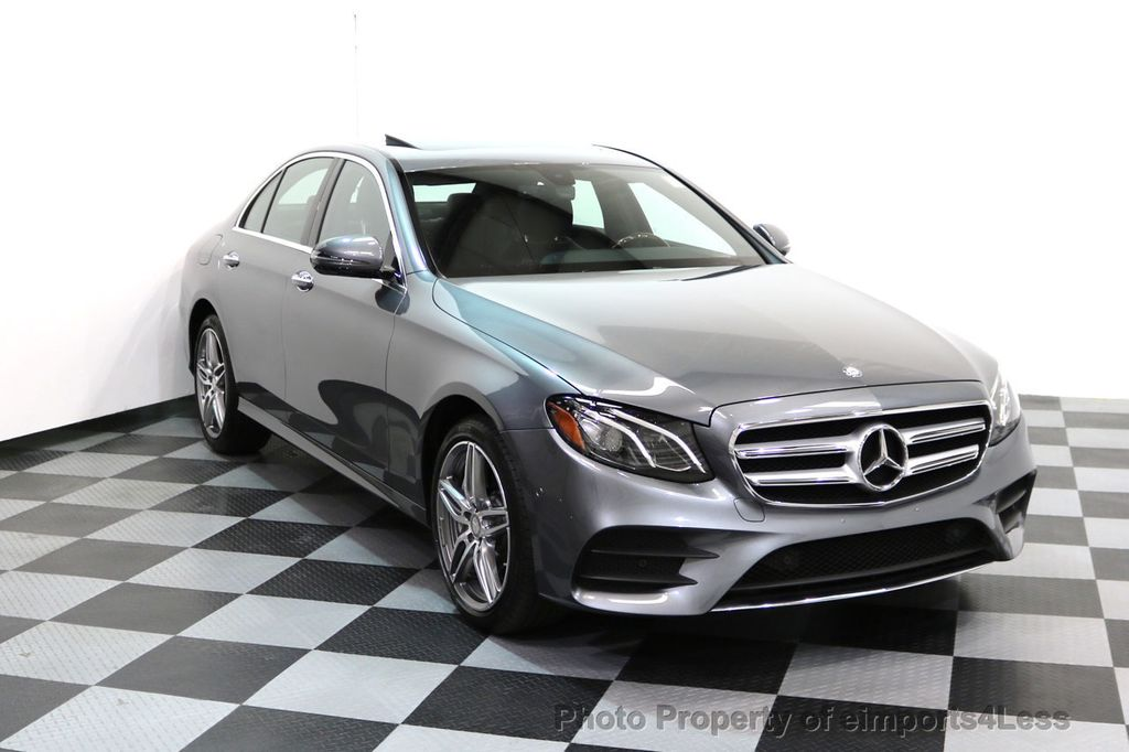 2017 Mercedes-Benz E-Class CERTIFIED E300 4Matic AMG Sport Package AWD BLIND SPOT NAV  - 17308041 - 1