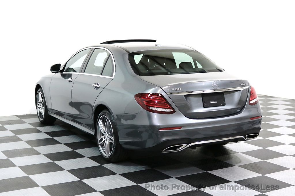 2017 Mercedes-Benz E-Class CERTIFIED E300 4Matic AMG Sport Package AWD BLIND SPOT NAV  - 17308041 - 2