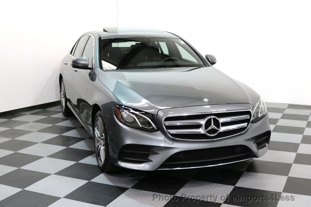 2017 Mercedes-Benz E-Class CERTIFIED E300 4Matic AMG Sport Package AWD BLIND SPOT NAV  - 17308041 - 30