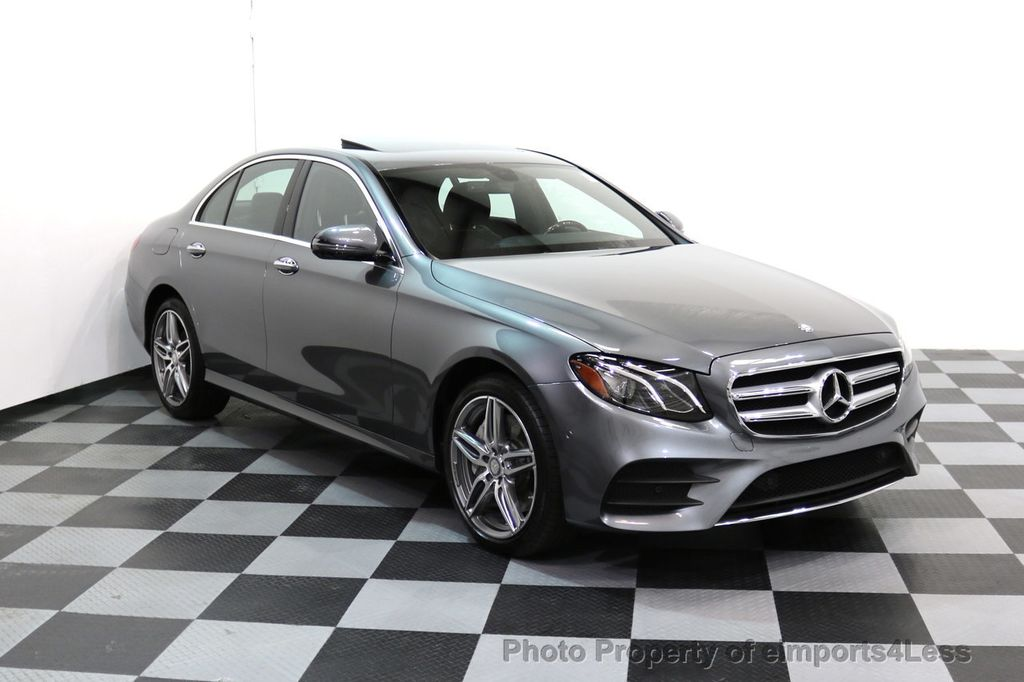 2017 Mercedes-Benz E-Class CERTIFIED E300 4Matic AMG Sport Package AWD BLIND SPOT NAV  - 17308041 - 42