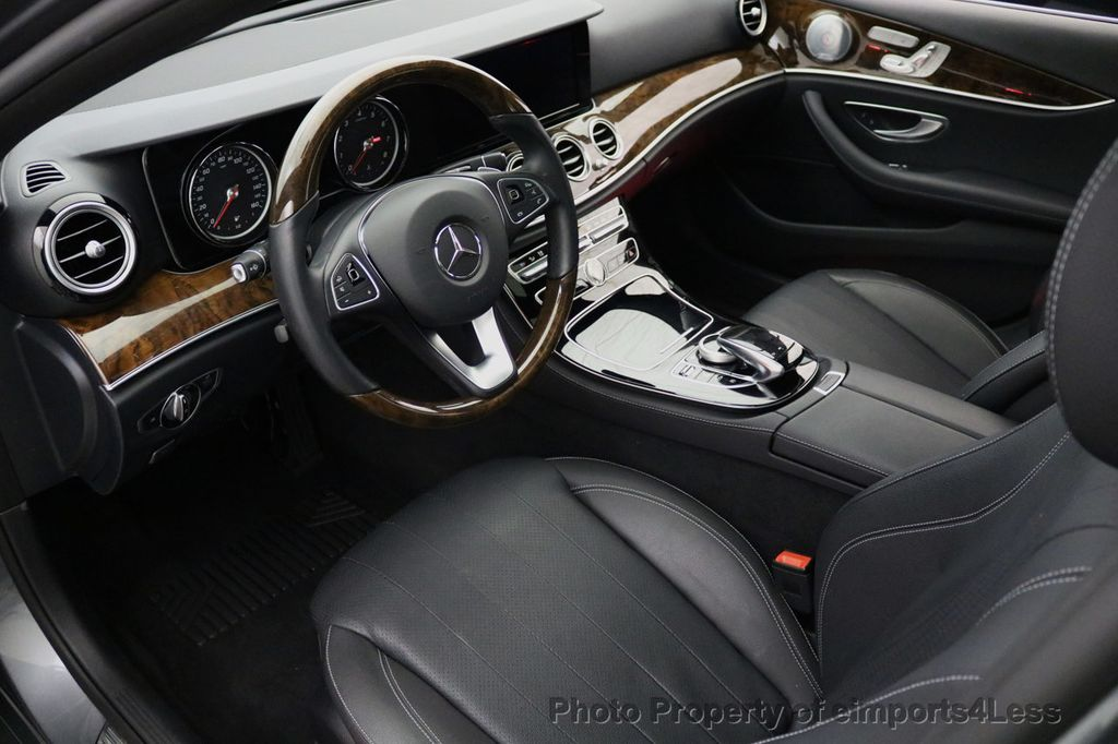 2017 Mercedes-Benz E-Class CERTIFIED E300 4Matic AMG Sport Package AWD BLIND SPOT NAV  - 17308041 - 45