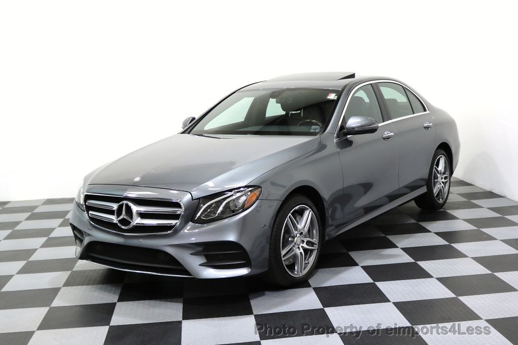 2017 Mercedes-Benz E-Class CERTIFIED E300 4Matic AMG Sport Package AWD BLIND SPOT NAV  - 17308041 - 52
