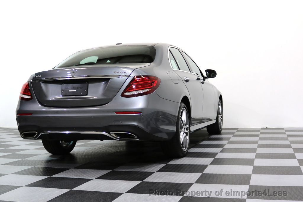 2017 Mercedes-Benz E-Class CERTIFIED E300 4Matic AMG Sport Package AWD BLIND SPOT NAV  - 17308041 - 53