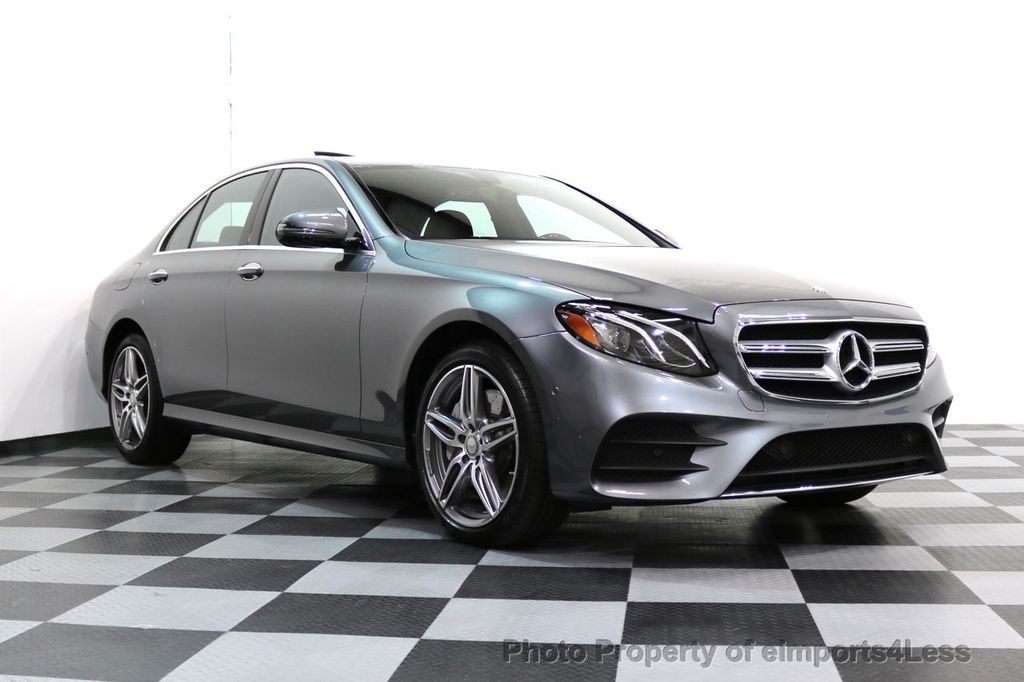 2017 Mercedes-Benz E-Class CERTIFIED E300 4Matic AMG Sport Package AWD BLIND SPOT NAV  - 17308041 - 54
