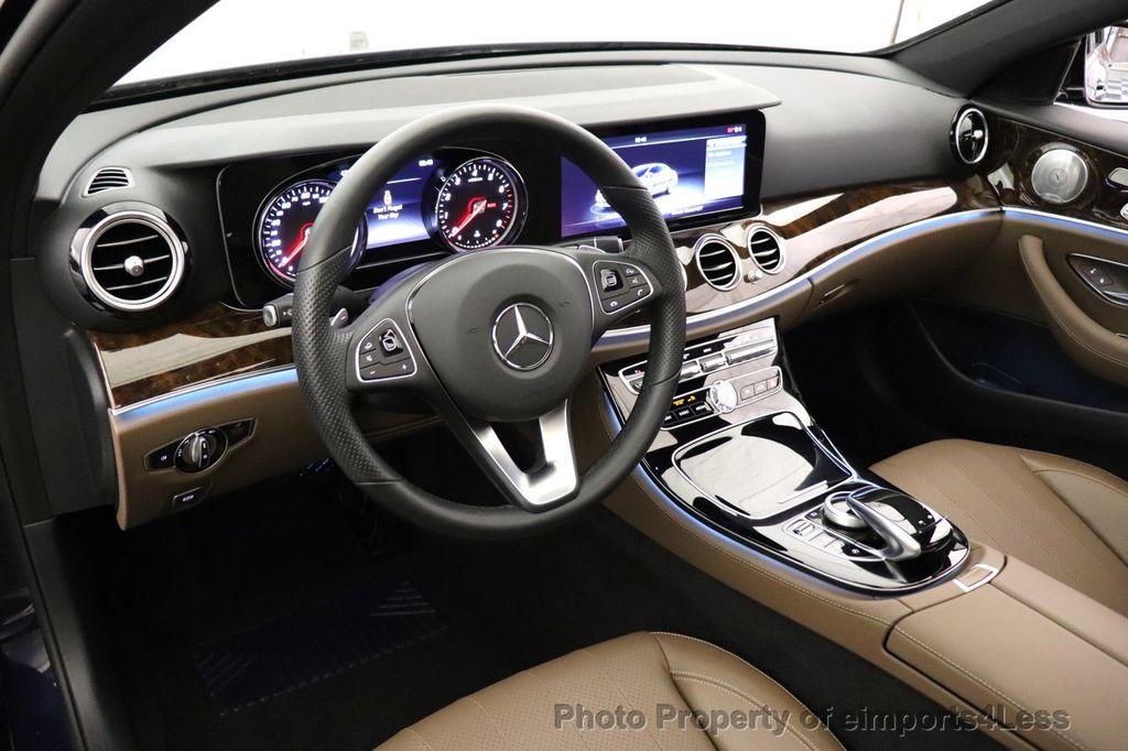 2017 Mercedes-Benz E-Class CERTIFIED E300 4MATIC AMG Sport Package AWD LED NAV CAM BLIS - 18373066 - 32