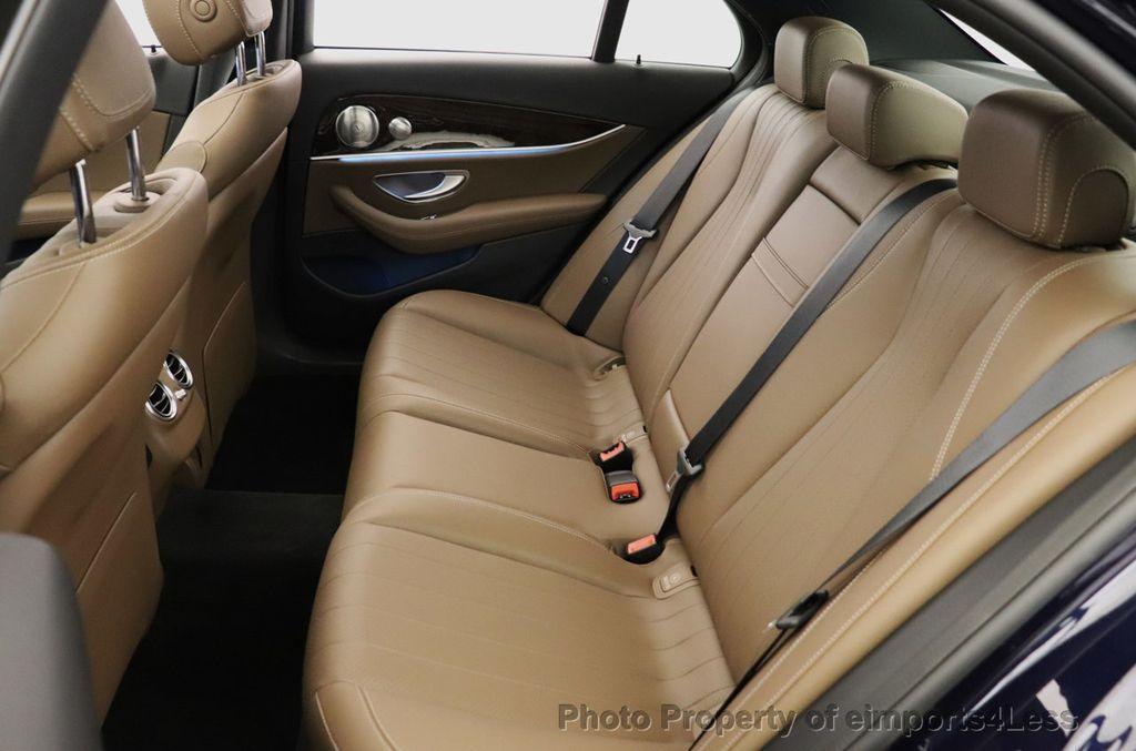 2017 Mercedes-Benz E-Class CERTIFIED E300 4MATIC AMG Sport Package AWD LED NAV CAM BLIS - 18373066 - 35