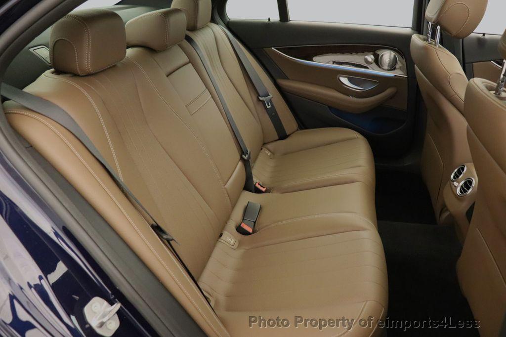 2017 Mercedes-Benz E-Class CERTIFIED E300 4MATIC AMG Sport Package AWD LED NAV CAM BLIS - 18373066 - 36