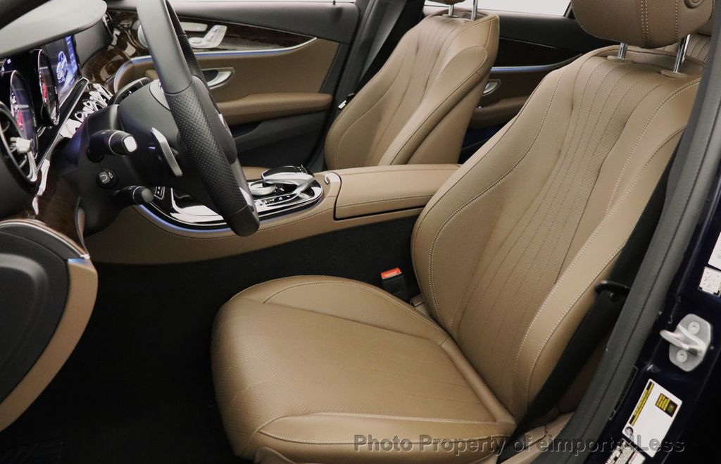 2017 Mercedes-Benz E-Class CERTIFIED E300 4MATIC AMG Sport Package AWD LED NAV CAM BLIS - 18373066 - 37