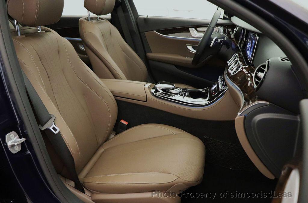 2017 Mercedes-Benz E-Class CERTIFIED E300 4MATIC AMG Sport Package AWD LED NAV CAM BLIS - 18373066 - 38
