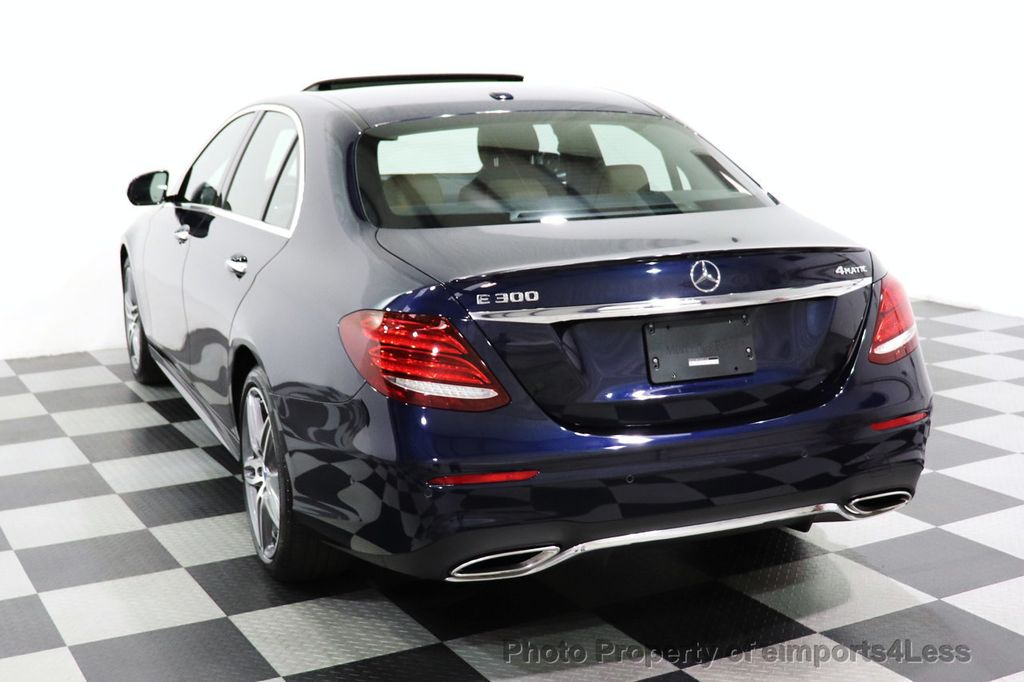 2017 Mercedes-Benz E-Class CERTIFIED E300 4MATIC AMG Sport Package AWD LED NAV CAM BLIS - 18373066 - 45