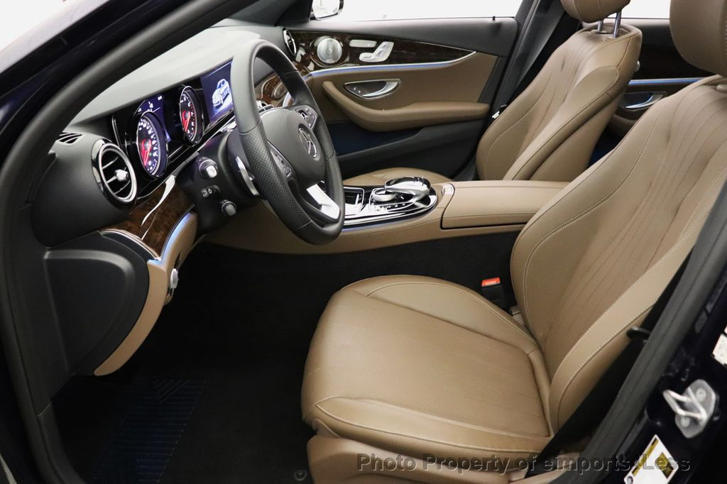2017 Mercedes-Benz E-Class CERTIFIED E300 4MATIC AMG Sport Package AWD LED NAV CAM BLIS - 18373066 - 47