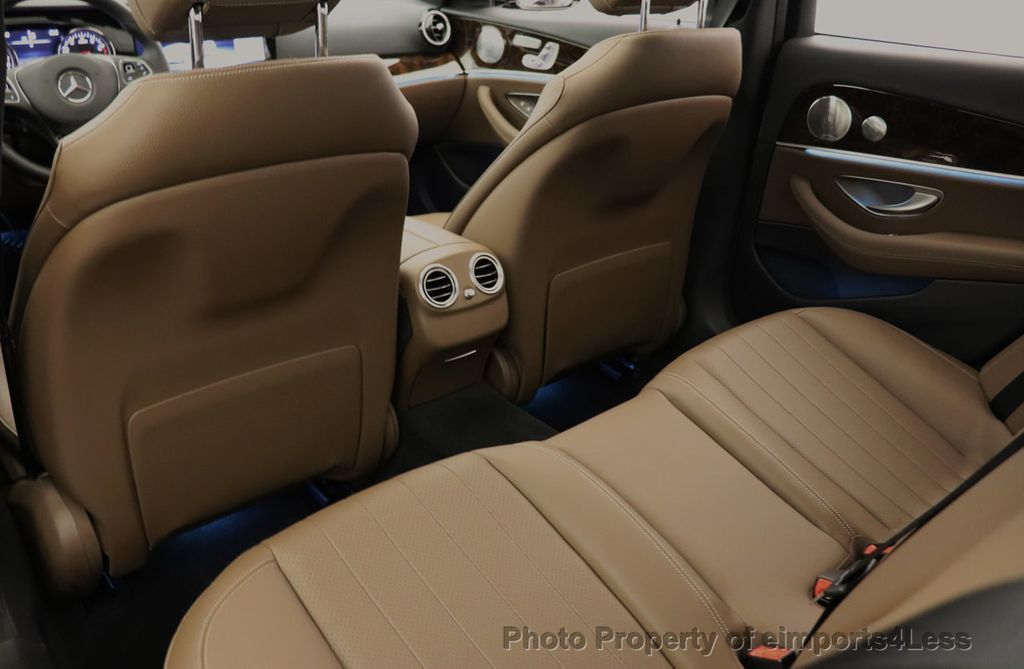 2017 Mercedes-Benz E-Class CERTIFIED E300 4MATIC AMG Sport Package AWD LED NAV CAM BLIS - 18373066 - 49