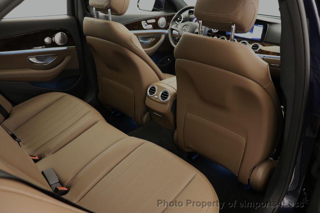 2017 Mercedes-Benz E-Class CERTIFIED E300 4MATIC AMG Sport Package AWD LED NAV CAM BLIS - 18373066 - 50
