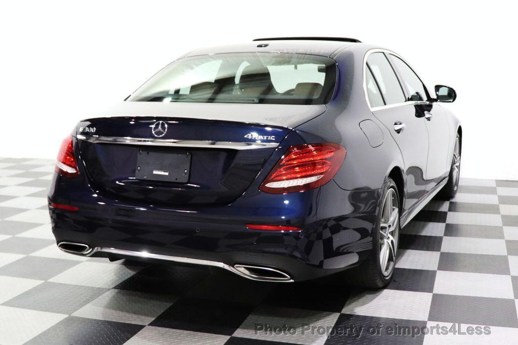 2017 Mercedes-Benz E-Class CERTIFIED E300 4MATIC AMG Sport Package AWD LED NAV CAM BLIS - 18373066 - 54