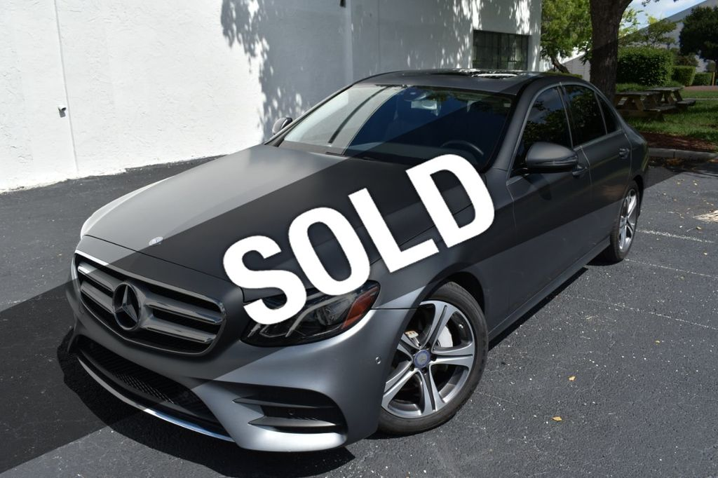 Matte Grey Car >> 2017 Used Mercedes Benz E Class E300 Matte Grey Premium Pkg Loaded With Options Wow At C K Auto Imports South Serving Pompano Beach Fl