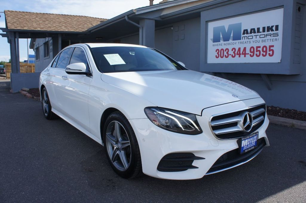 2017 Mercedes Benz E Cl 300 Sport 4matic Sedan 17667591 0