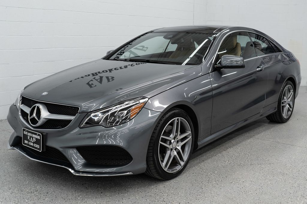 2017 Used Mercedes-Benz E-Class E 400 4MATIC Coupe at ...